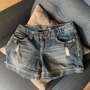 Maurices Jean Short with Stitching Detail
